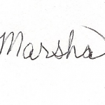 Yours truly, Marsha