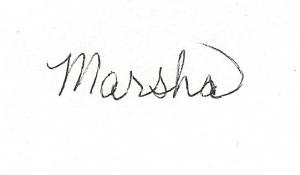 Signature- Marsha